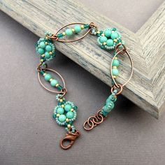 the little charms to make a light and dainty bracelet, and the color choices are only limited by your imagination