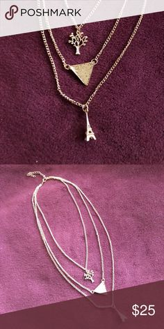 Three Layered Necklace NWOT *** Jewelry Necklaces