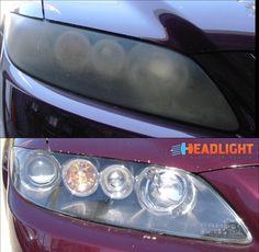 Headlight Restoration, Car, Automobile, Vehicles, Cars, Autos