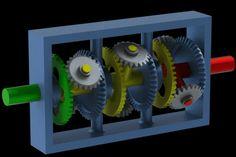 Multiple speed gear (paradox box)