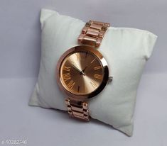 Checkout this latest Analog Watches Product Name: *casual stylish watch for women* Strap Material: Metal Date Display: No Dial Design: Colorblock Dial Shape: Round Display Type: Analog Dual Time: No Gps: No Light: No Scratch Resistant: No Shock Resistance: No Water Resistance: No Multipack: 1 Sizes:  Free Size Country of Origin: India Easy Returns Available In Case Of Any Issue   Catalog Rating: ★4 (1627)  Catalog Name: Stylish Women Watches CatalogID_1865389 C72-SC1087 Code: 422-10282746-015