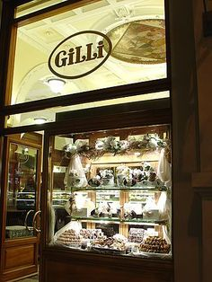 Gilli's cafe and bakery in Florence.  Amazing desserts!