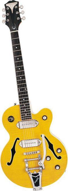 Epiphone WildKat Ltd Electric Guitar Antique NaturalChrome
