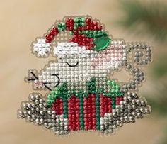 Hey, I found this really awesome Etsy listing at https://www.etsy.com/listing/166496684/mill-hill-winter-holiday-collection-kris
