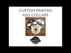 New Video: Custom Printed Keg Collars Candy Packaging, Chocolate Packaging, Custom Printed Boxes, Custom Candy, Collars, Posts, Videos, Blog, Necklaces