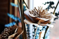 Awesome Kraft Paper Flower - Easy Paper Crafts