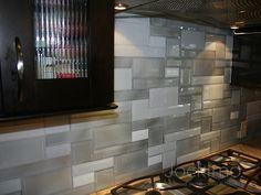 Cool backspash tiling