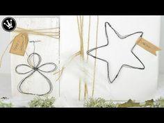 Tutorial - Engel und Stern aus Draht I Geschenkanhänger I Weihnachtsdeko I How to - YouTube