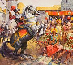 Conquistadores versus the Incas