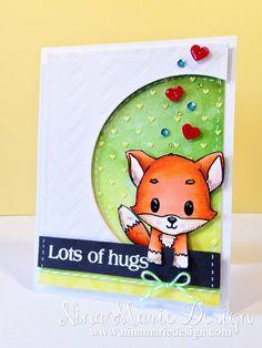 Nallekortti Lots of Hugs_1