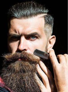 Moustache, Beard No Mustache, Mr Beard, Epic Beard, Beard Styles For Men, Hair And Beard Styles, Hair Styles, Beard Wash, Cut Her Hair
