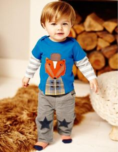 100% Cotton Boys T-shirts US Style Kids Long Sleeve Sweater