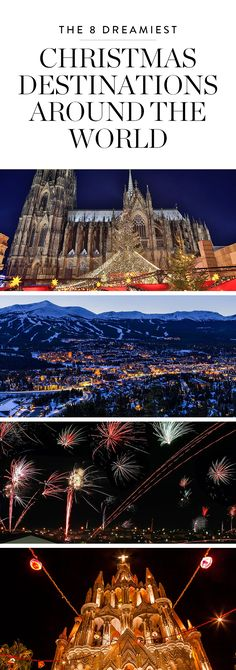 Regardless of the holidays you actually celebrate, we can all agree there's something special about Christmas time. Between the glittering décor and the cheerful vibes, it's everyone's season. Here are eight cities around the world that do Christmas right.