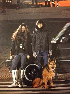 [Champagne]川上洋平・庄村聡康2012/2/29「ROCKIN'ON JAPAN」2012年4月号 Shepherd Dog, Rock Bands, Famous People, German, Winter Jackets, Japanese, Celebrities, Champagne, Deutsch