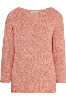Paul & Joe Tilapia knitted cotton sweater   NET-A-PORTER