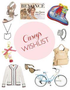 Nothing better than a springtime wish list...http://skirtpr.com/blog/etc/caseys-wish-list/