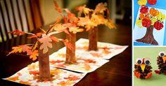 8 petits bricolages d'automne à faire avec les enfants! - Bricolages - Des bricolages géniaux à réaliser avec vos enfants - Trucs et Bricolages - Fallait y penser !