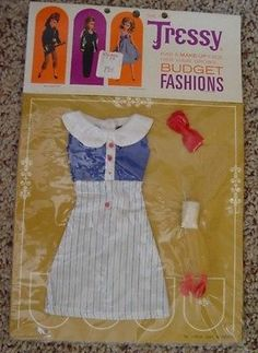 Vintage Tressy Doll Outfit Gay Giddy Never Opened | eBay
