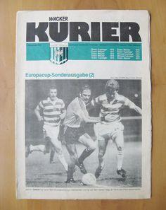WACKER INNSBRUCK v CELTIC European Cup 1977/1978 *Exc Cond Football Programme* | eBay