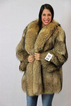 tanuki fur jacket