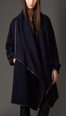 Love! Cashmere Wrap Coat Burberry