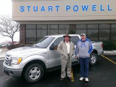 Congratulations to Larry and Billie Camic from Harrodsburg on your 2011 Ford F-150 SuperCrew XLT with all the toys!  Thank you for your business, welcome to the Stuart Powell family, and we look forward to finding a good home for the 2012 Nissan Titan 4-door truck you traded in.    - Kenny Stratton, Stuart Powell Ford-Lincoln-Mazda
