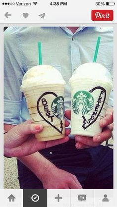Starbucks with ur bestie
