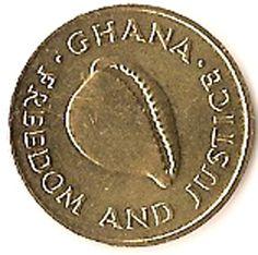 1 Cedi #Ghada - 1984 Raffigura una conchiglia, che come una sorta di scrigno inattacabile, difende il molusco al suo interno.