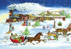 12 best whimsical advent calendars images christmas. Black Bedroom Furniture Sets. Home Design Ideas