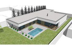 Dom je vybaveny podlahovym vykurovanim, rekuperaciou, krbom, centralnym riadenim etc.