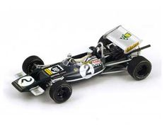 This Lotus 69 (Jochen Rindt - Pau GP Resin Model Car is Dark green and features comes in a display case. It is made by Spark and is scale (approx. Jochen Rindt, Display Case, Scale Models, F1, Diecast, Lotus, Dark, Green, Glass Display Case