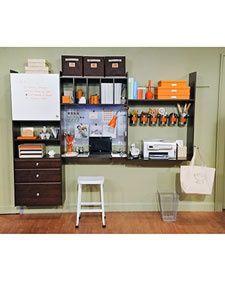 Home Office Organization - Martha Stewart Home & Garden