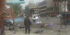حمله انتحاری در برابر قصر شاهی جلالآباد