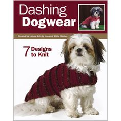 Knit dog sweaters