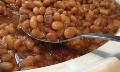 Baked Bean Recipes, Beans Recipes, Canadian Dishes, Baked Beans, French Food, I Love Food, Slow Cooker Recipes, Quebec, Crockpot