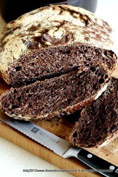 Pane al Cioccolato Fondente Wine Recipes, Bread Recipes, Dessert Recipes, Desserts, Cooking Bread, Bread Baking, Scones, Sweet Light, Torte Cake