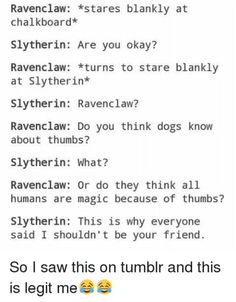 A decent rivalry exists between the Hogwarts houses of Slytherin and Ravenclaw, and these ten hilarious memes make light of the conflict. Harry Potter Spells, Harry Potter Jokes, Harry Potter Fandom, Harry Potter Universal, Harry Potter World, Ravenclaw Memes, Slytherin And Hufflepuff, Hogwarts Founders, Hogwarts Houses