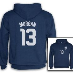 Alex Morgan SweatShirt in Navy Blue, Green, White and Black on Amazon... got this jacket in navy and it's so warm perfect for when it's really cold outside