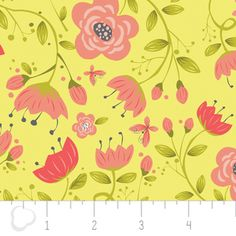 Heather Rosas - Its a Birds Life - Floral in Yellow