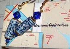 North Carolina Tarheels Earrings by Candras on Etsy, $16.99