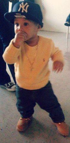 I'll be sure to dress my kid like this haha Swag?