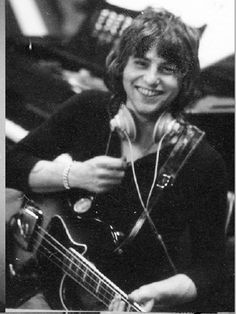 "theprobablezell: "" All together now: awwwwwwwwwwww! (Greg Lake recording 'In the Court of the Crimson King' from the digital booklet) """