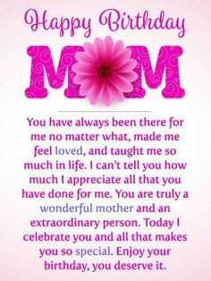 Happy Birthday Mom Letter Images From Daughter