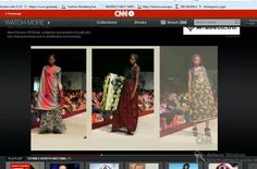 Photo of nigeria's next super model finale of 2013 shown on cnn on African voices with awesome lady fifi ejindu's special fabrics.All proceeds goes towards helping the less priviledge.