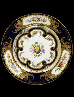 Coalport Plate 1850 painted by Cook, William | V&A Search the Collections