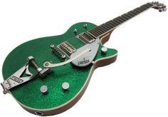 Gretsch Green Sparkle Jet Electric Vintage Guitar Wow | Vintage ...