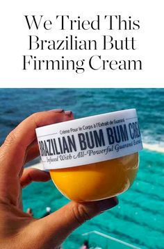 Would You Use a Butt Firming Cream? We Did and Here's What We Thought via @PureWow