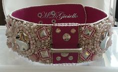 Dog's Beauty' Lilly - Halsbanden-exclusief 'Dog's Beauty' - MDG-Bead-Embroidery Sieraden en accessoires