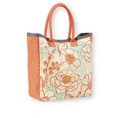 sac cabas Fleurs rouge Mr&Mrs Clynk - deco-graphic.com