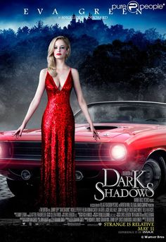 Eva Green dans Dark Shadows de Tim Burton.